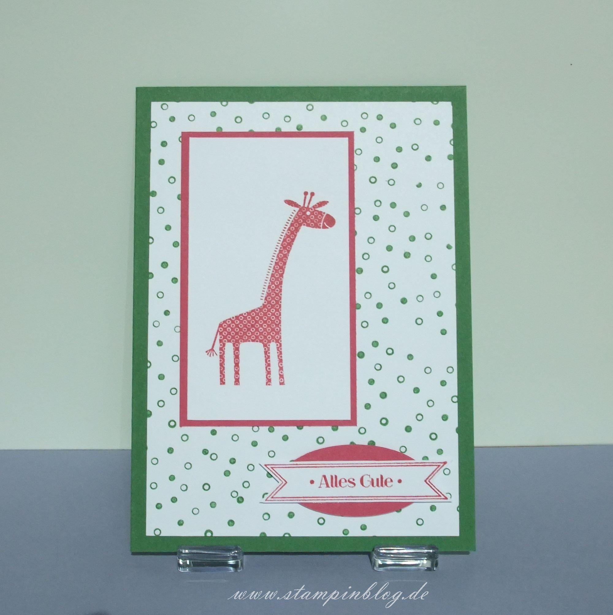 Geburtstag-Zoo-Babies-Giraffe-gartengrün