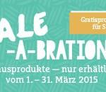 Neue Sale-A-Bration Gratisprodukte