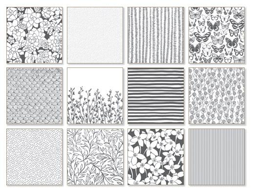 Sale-A-Bration-Designerpergament-Pure-Perfektion-Stampin