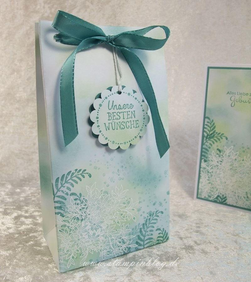 Geburtstag-Geschenktüte-Awesomely-Artistic-Lagunenblau-Pistazie-Stampinblog-Stampin