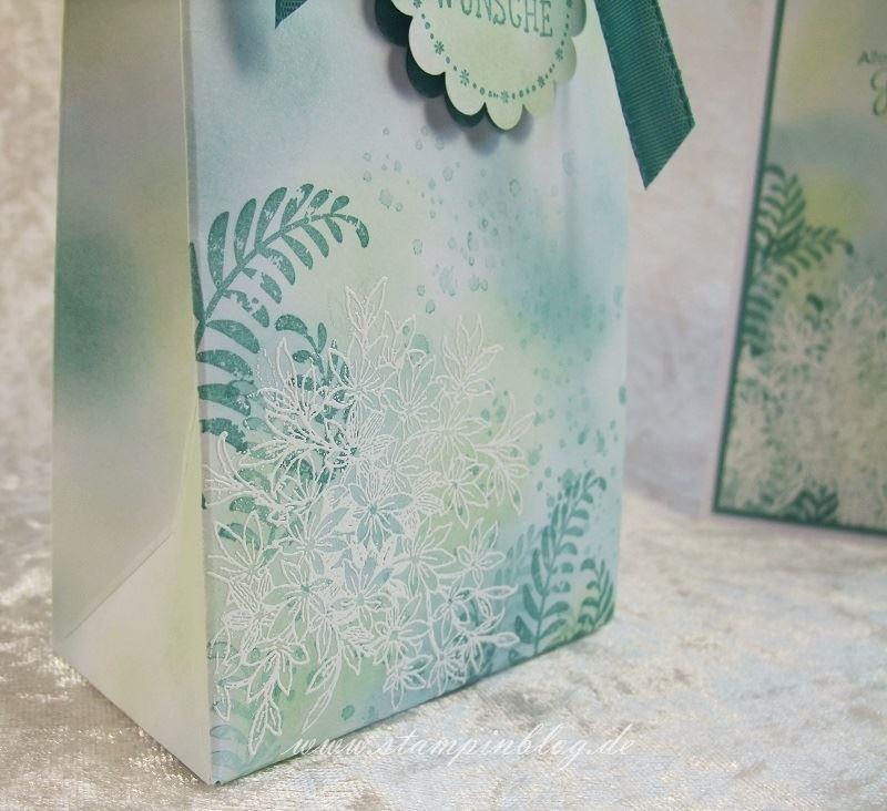 Geburtstag-Geschenktüte-Embossing-Awesomely-Artistic-Lagunenblau-Pistazie-Stampinblog-Stampin