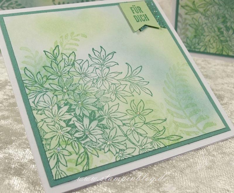 Karte-Danke-Awesomely-Artistic-Glitter-Lagunenblau-Jade-Stampin