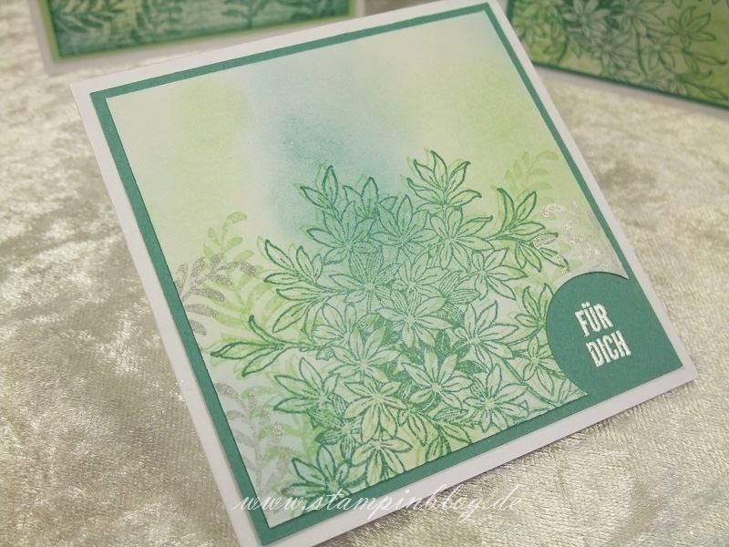 Karte-Danke-Awesomely-Artistic-Silber-Lagunenblau-Jade-Stampin