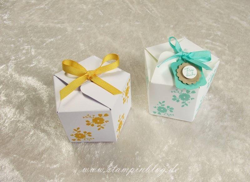 Goodie-Gastgeschenk-Box-Verpackung-Pentagon-Stanz-Falzbrett-Geschenktüten-Stampinblog-Stampin