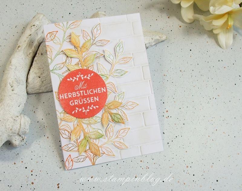 Herbst-Gruesse-Mauer-Ziegel-Zwischen-den-Zweigen-Stampinblog-Stampin
