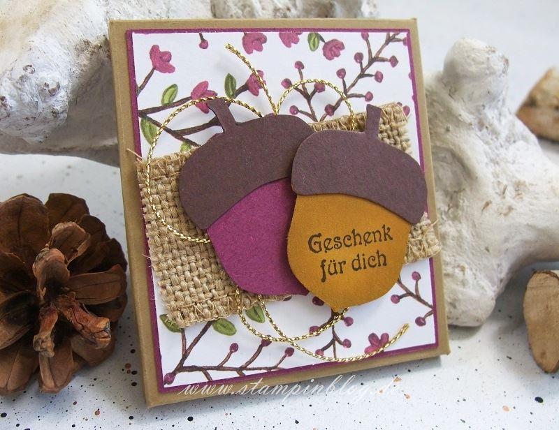 Verpackung-Goodies-Gastgeschenk-Herbst-Himbeerrot-Eichel-Stampinblog-Stampin