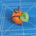 Mini-Zierschachtel als Pilz