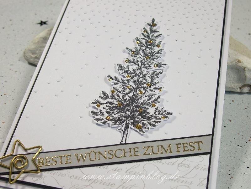 Weihnachten-Christbaum-Tanne-Weihnachtsbaum-schwarz-gold-anthrazit-Stampinblog-Stampin