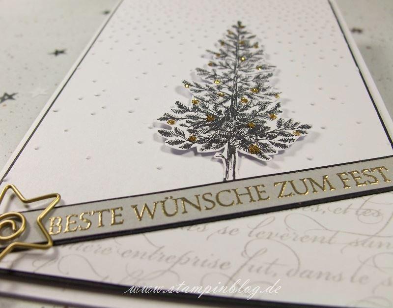 Weihnachten-Tanne-Christbaum-Weihnachtsbaum-schwarz-gold-anthrazit-Stampinblog-Stampin