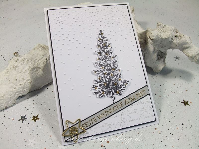 Weihnachten-Tanne-Christbaum-schwarz-gold-anthrazit-Stampinblog-Stampin