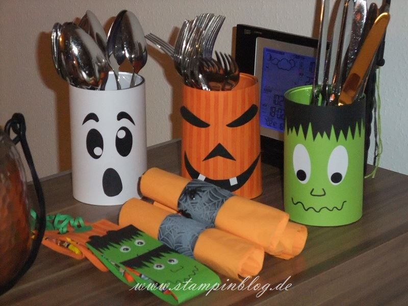 Halloween-Party-Serviettenhalter-Besteckhalter-Stampinblog