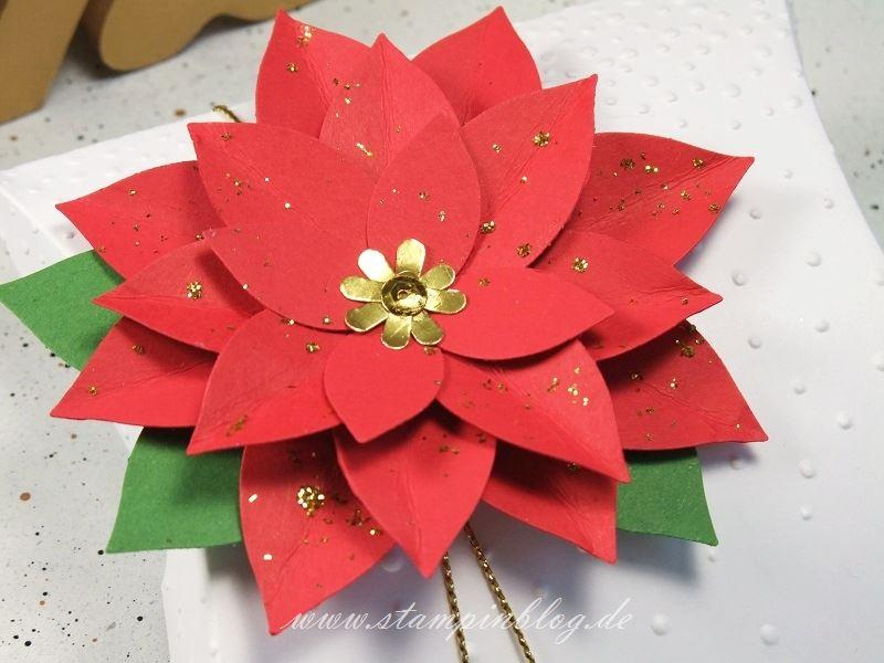 Verpackung-Weihnachtsstern-glitter-Pillow-Box-quadratisch-square-Stampinblog-Stampin