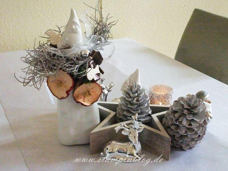 Weihnachten-Advent-Deko-Tischdeko-Kerze-Stampinblog