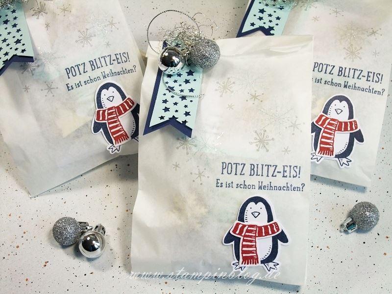 Verpackung-Weihnachten-Advent-Geschenktüte-Tüte-Pergamintüte-Pinguin-Stampinblog-Stampin
