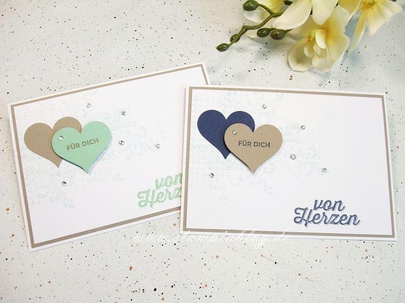 Geburtstag-Danke-Timeless-Textures-Paarweise-Marineblau-Minzmakrone-Taupe-Stampinblog-Stampin