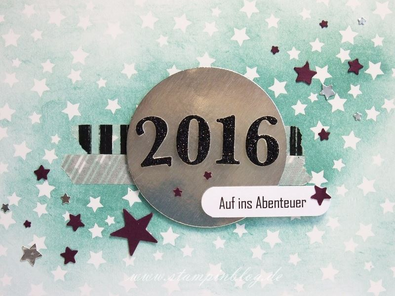 Neujahr-Silvester-Team-Sterne-Silber-Lagunenblau-Brombeermousse-Stampinblog-Stampin