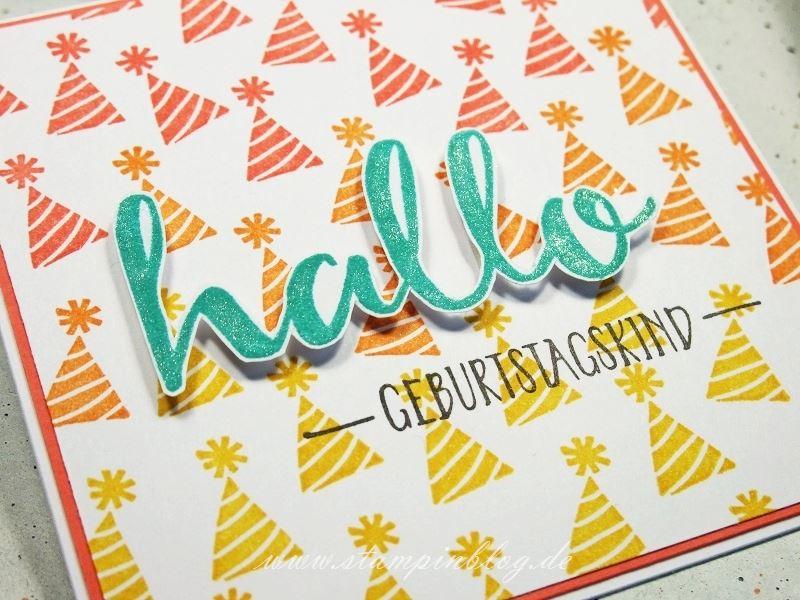 Geburtstag-Party-Hallo-Hintergrund-Regenbogen-Stampinblog-Stampin