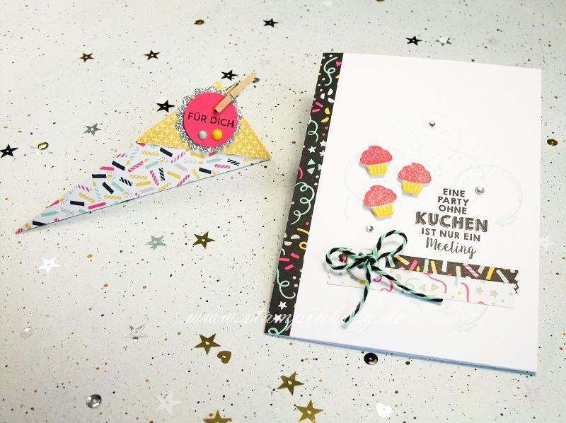Stempelparty-Geburtstag-Party-Grüße-Gastgeschenk-Goddies-Verpackung-Stampinblog-Stampin