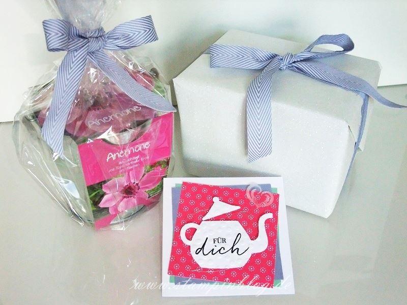 Geburtstag-Glückwunsch-Blumen-Tee-Teestunde-Teekanne-silber-blauregen-wassermelone-Stampinblog-Stampin