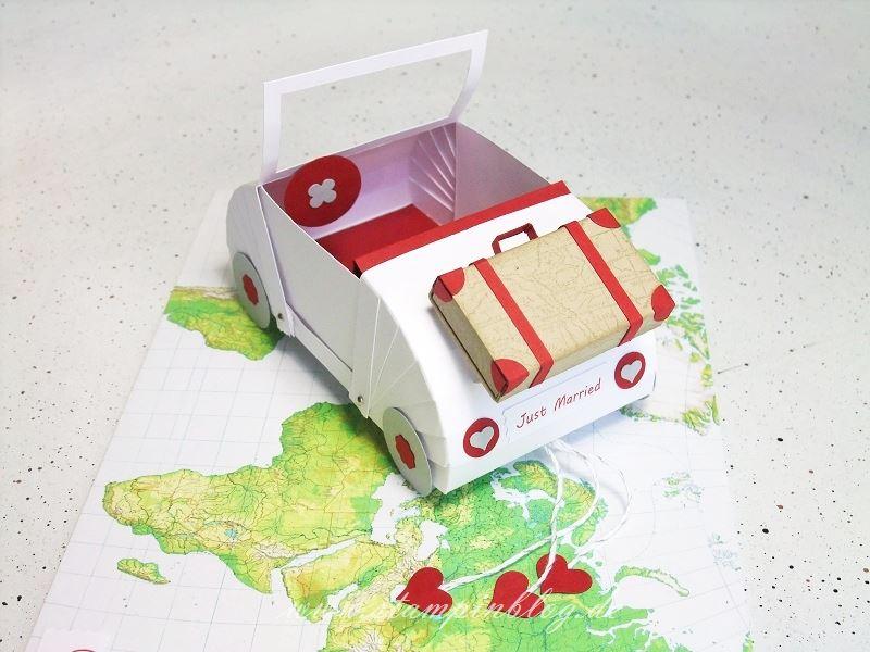 Hochzeit-Auto-Hochzeitsauto-Koffer-Geldgeschenk-Stampinblog-Stampin