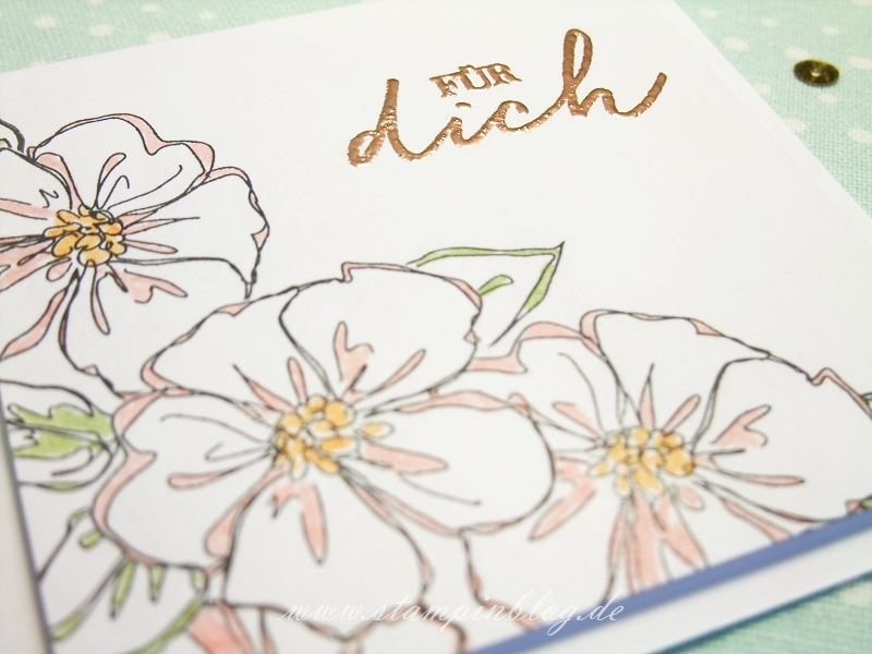 Geburtstag-Glückwunsch-Blumen-Penned-Painted-Kupfer-Embossed-Stampinblog-Stampin