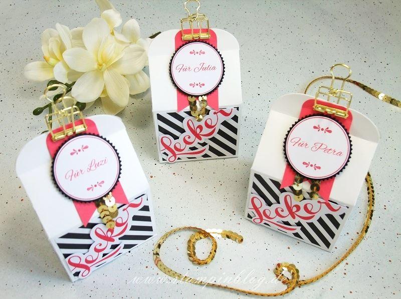 Verpackung-Goodies-Box-Leckereien-Bakers-Danke-wassermelone-pink-gold-schwarz-Stampinblog-Stampin