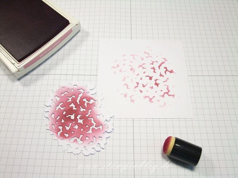 Anleitung-Hintergrund-Baumkrone-Schwämmchen-Pflaume-Zarte-Wald-der-Worte-Stampinblog-Stampin