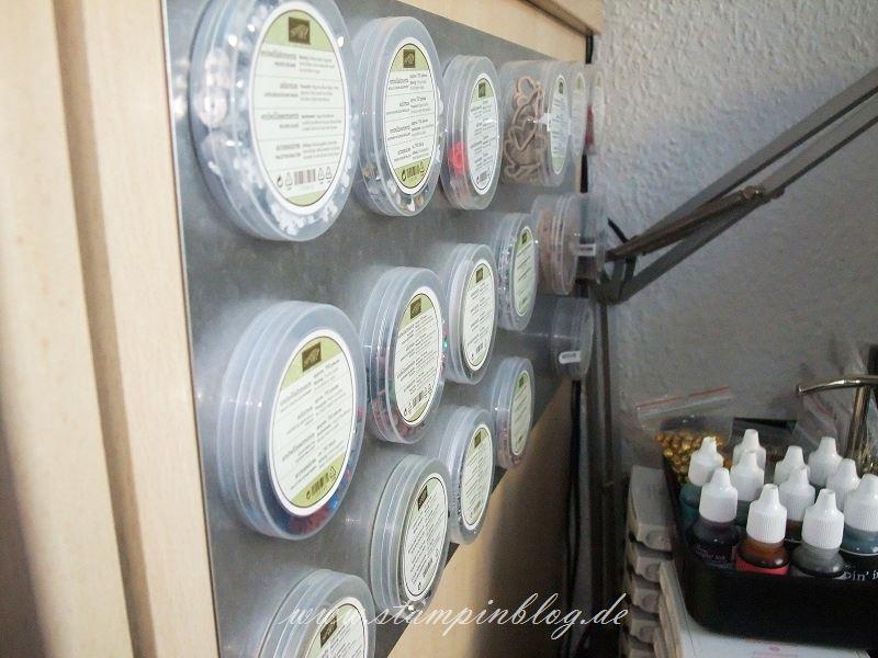 Aufbewahrung-Accessoires-Embellishment-Wandhalterung-Magnete-Stampinblog-Stampin