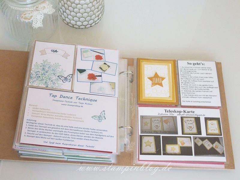 Technik-Buch-Technikbuch-2-Seiten-Einblick-Techniken-Einblicke-Stampinblog-Stampin