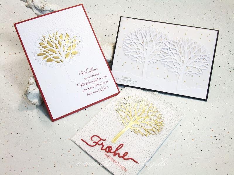 Wald-der-Worte-Weihnachten-Winter-Baum-Schnee-Gold-Pergament-Stampinblog-Stampin