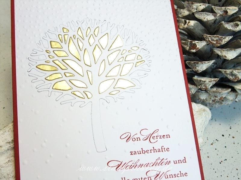 Wald-der-Worte-Weihnachten-Winter-Baum-Schnee-Schneeflocken-Gold-Stampinblog-Stampin