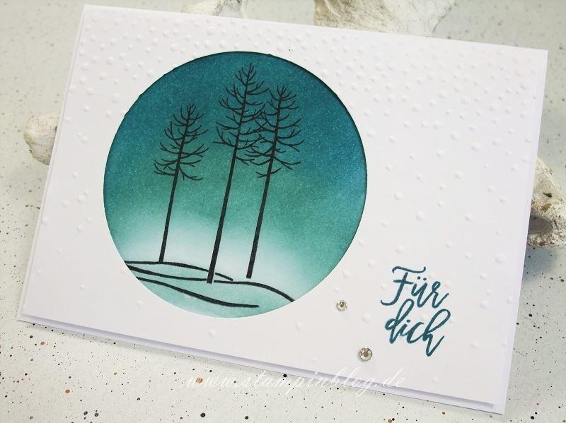 Wald-der-Worte-Winter-Landschaft-Winterlandschaft-Schnee-Baum-Grüssel-prägen-Stampinblog-Stampin