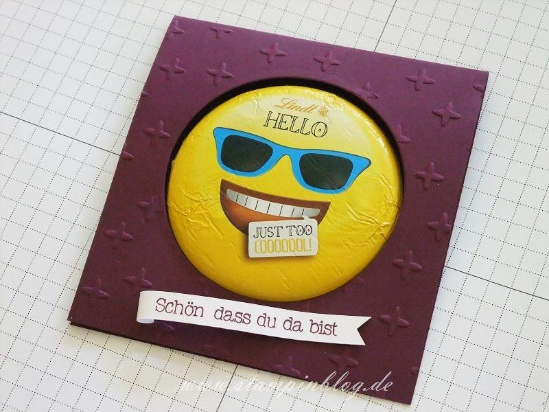 Goodie-Gastgeschenk-Smiley-Emoticon-Lindt-Schokolade-Stampinblog-Stampin
