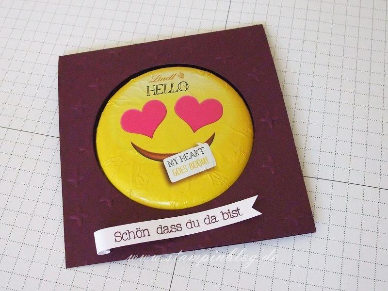 Goodie-Gastgeschenk-Smiley-Emoticon-Schokolade-Lindt-Stampinblog-Stampin