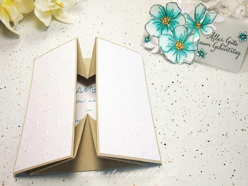 Gutschein-Geburtstag-Box-Card-Karte-Blumen-Funkelsterne-bermudablau-Stampinblog-Stampin