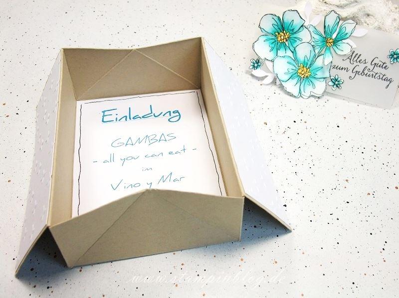 Gutschein-Geburtstag-Box-Card-Karte-Blumen-Penned-Painted-bermudablau-Stampinblog-Stampin
