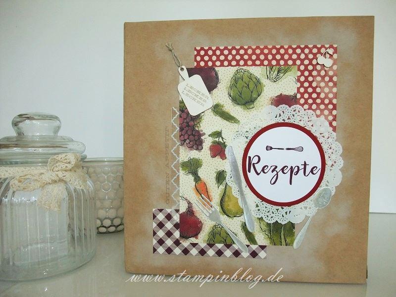 Rezeptbuch-Rezepte-Cover-Buch-Küche-Project-Life-Recieps-Stampinblog-Stampin