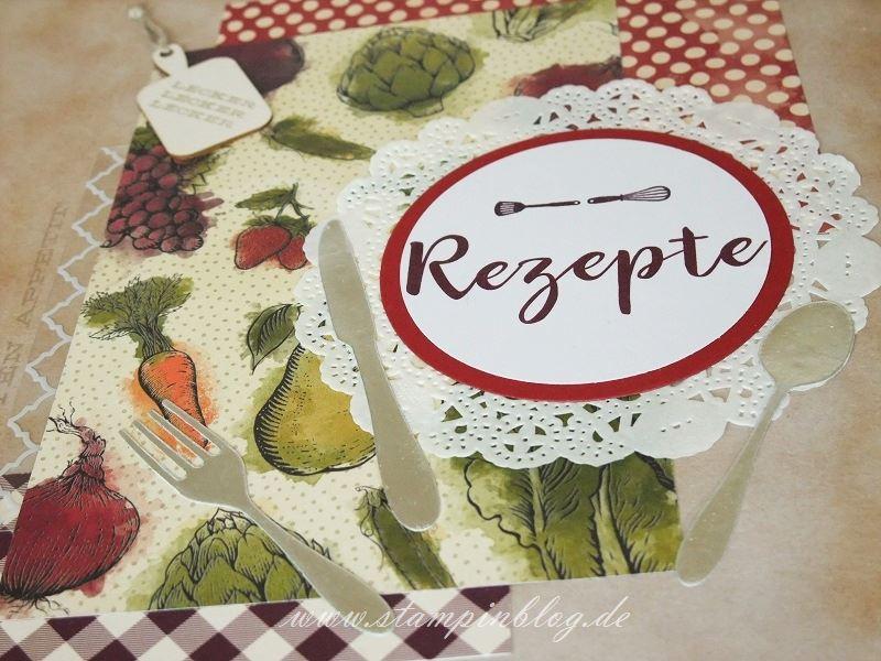 Rezeptbuch-Rezepte-Cover-Buch-Recieps-Küche-Project-Life-Stampinblog-Stampin