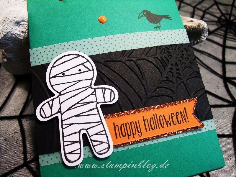 Halloween-Einladung-Gruss-Mini-Leckereientüte-Mumie-Stampinblog-Stampin