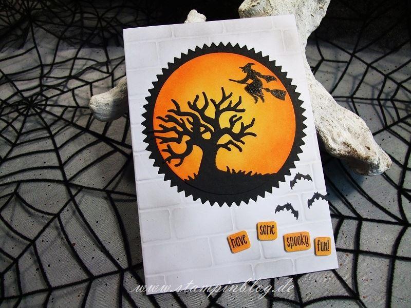 Halloween-Einladung-Gruss-Spooky-Fun-Hexe-Stampinblog-Stampin