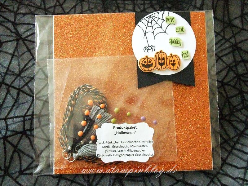 Produktpaket-Halloween-Glitzerpapier-Gruselnacht-Kordel-Miniquasten-Lackpünktchen-Stampinblog-Stampin