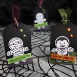 Schnelle Halloween-Verpackung inkl. Anleitung