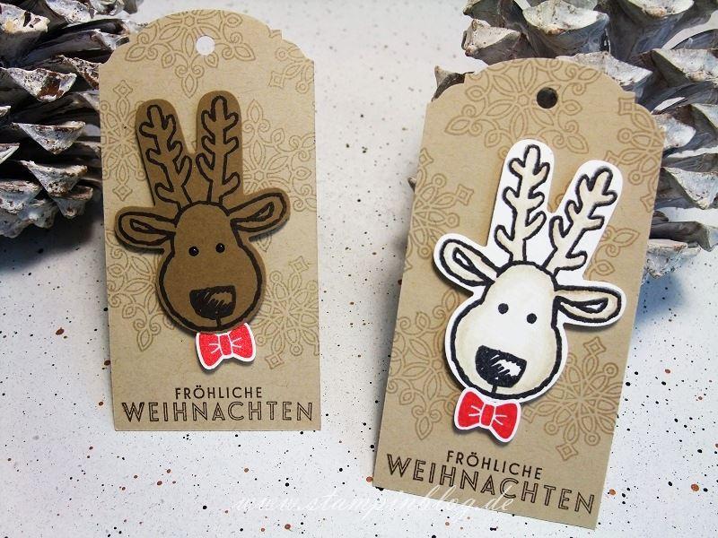Weihnachten-Anhänger-Ausgestochen-Weihnachtlich-Rentier-Stampinblog-Stampin