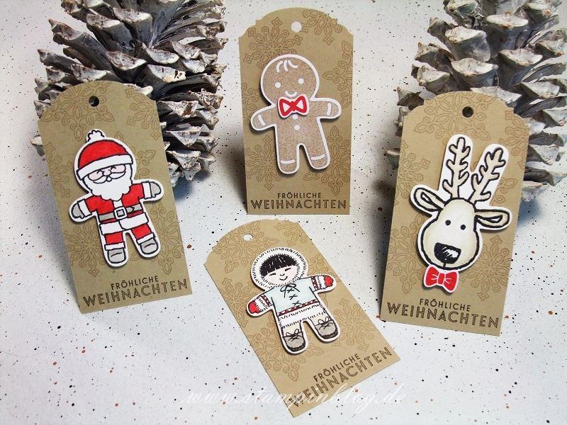 Weihnachten-Anhänger-Ausgestochen-Weihnachtlich-Rentier-Weihnachtsmann-Stampinblog-Stampin