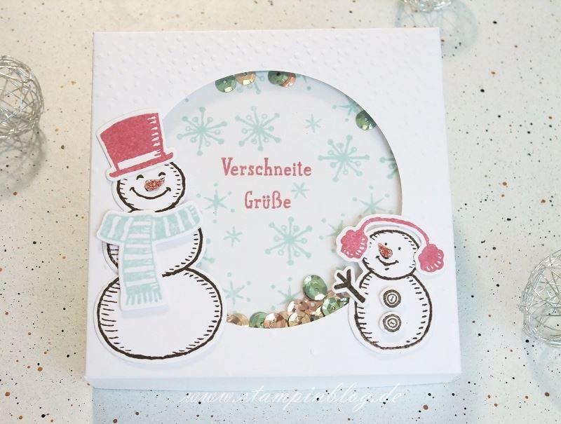 Blog-Hop-Schneemann-Es-schneit-Verpackung-Taschenwärmer-Himmelblau-Pflaume-Stampinblog-Stampin