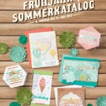 Stampin' UP! Sale-A-Bration + Frühjahr-/Sommerkatalog 2017