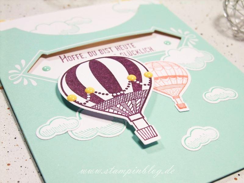 Kartenset-Kreativ-Kuvertiert-Abgehoben-Heißluftballon-Ballon-Stampinblog-Stampin