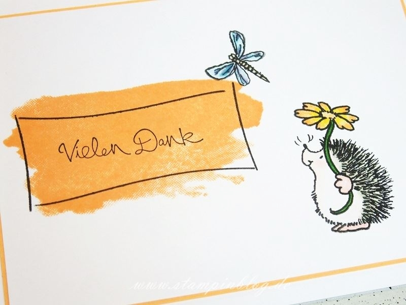 Danke-Igel-Blume-Schmetterling-Penny-Black-Stampinblog-Stampin