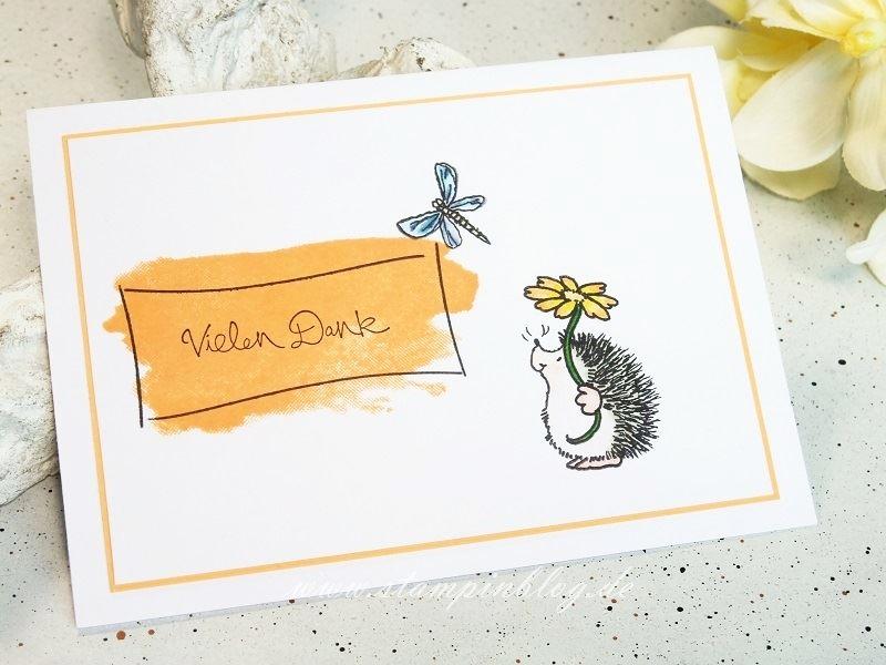 Danke-Igel-Schmetterling-Blume-Penny-Black-Stampinblog-Stampin
