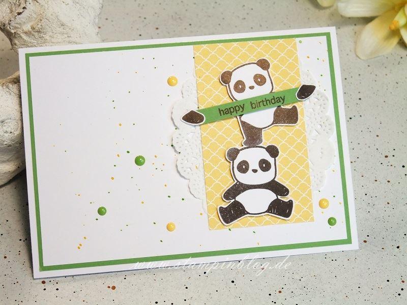 Geburtstag-Glückwunsch-Panda-Punkte-Pandamonium-Mama-Elephant-Stampinblog-Stampin